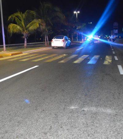 CRUZA MEDIO MUNDO PARA MORIR EN CANCÚN: Fallece turista australiano al ser atropellado por un auto en la Zona Hotelera