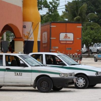 EMPINAN LA CUESTA DE ENERO: Aumentarán tarifa de taxis en Cancún a partir del primer día del 2015