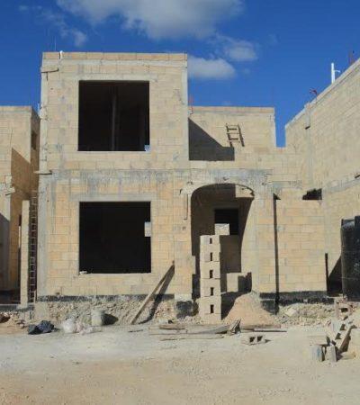 Muere albañil al caer de obra en construcción en el fraccionamiento Santa Fe
