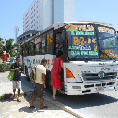 VAN POR NUEVO AUMENTO AL TRANSPORTE: Por alza del dólar, solicitan Autocar y Turicún subir un peso al pasaje en el servicio urbano de Cancún