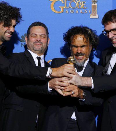 PELEADA ENTREGA DE LOS GLOBOS DE ORO: 'Birdman', del mexicano Iñárritu, y 'Booyhood', la película de los 12 años, se dividen premios