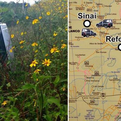 ASESINAN A GANADERO EN BACALAR: Cuando circulaba en carretera, lo matan de un escopetazo, provocando volcadura de su camioneta