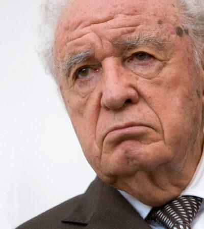 SE VA OTRO GRANDE DE MÉXICO: A los 88 años, fallece Julio Scherer García, fundador de Proceso y maestro de periodistas