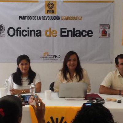 LES DEBERÍAN QUITAR HASTA EL REGISTRO: Exigen diputados del PRD al INE sancionar entrega de despensas del PVEM en Cancún