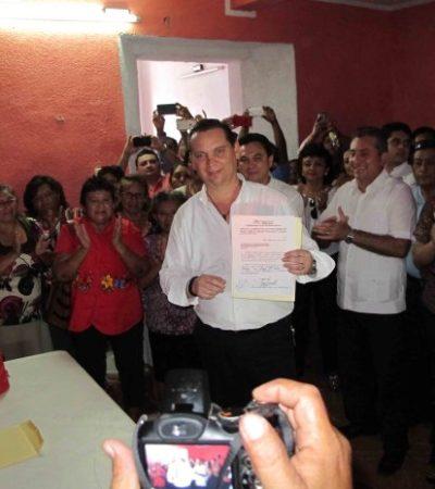 Se registra Mario Peniche, cuñado de ex Alcalde de Cancún Francisco Alor, para repetir en la Alcaldía de Valladolid