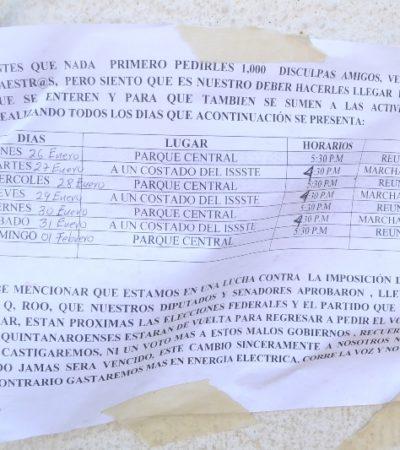 Amenazan padres en FCP con boicotear regreso a clases con el nuevo horario