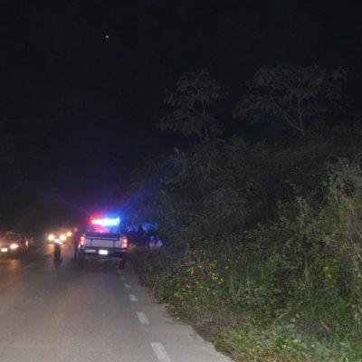 PRIMER EJECUTADO DEL AÑO EN QR: Hallan flotando en un cenote el cuerpo maniatado y desnudo de un ex empleado municipal en Lázaro Cárdenas