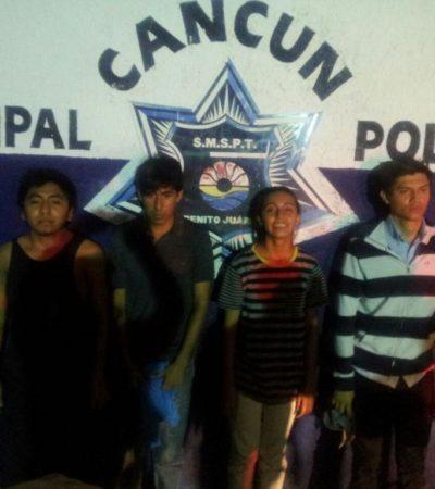 """""""SON PRESOS POLÍTICOS"""": Denuncian 'siembra' de armas a jóvenes detenidos por manifestación en Cancún"""