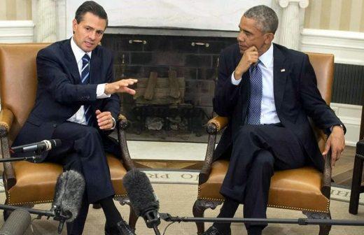REUNIÓN EN LA CASA BLANCA: Ante EPN, Obama muestra su preocupación por la tragedia de Ayotzinapa y ofrece ayuda a México