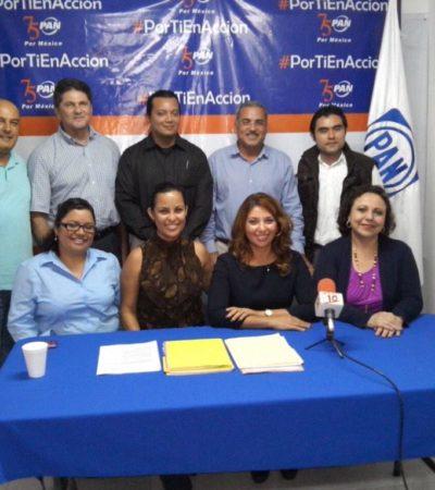 Registra PAN a 5 precandidatos a diputaciones federales en QR