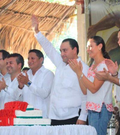LANZA BORGE 'DADOS CARGADOS': Otra 'celebración' con precandidatos, pero en el D-02 el Gobernador aupa a Arlet y deja fuera a Cora Amalia