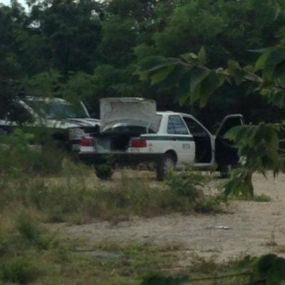 ASALTADO Y ENCAJUELADO: Después de sufrir robo, taxista permanece casi 5 horas encerrado en Cancún