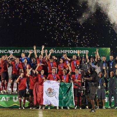 En penales, México se proclama campeón de Premundial sub 20