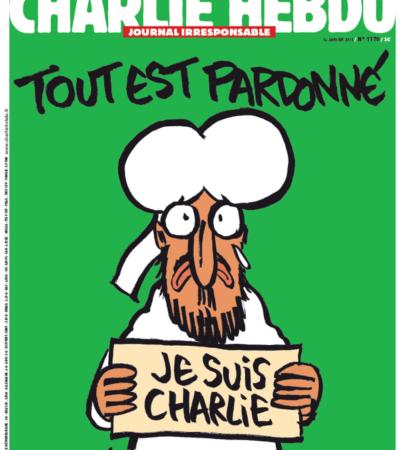 """""""TODO ESTÁ PERDONADO"""": Mahoma se solidariza con 'Charlie Hebdo', la portada del próximo número de la revista atacada"""