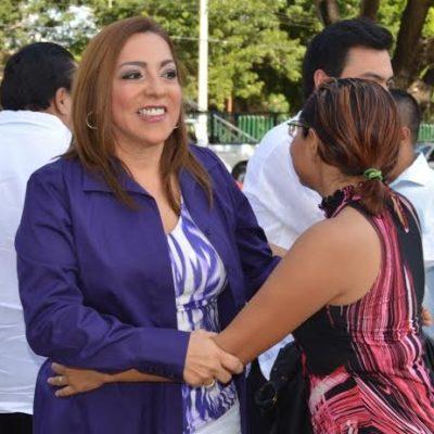 """""""SI VAMOS A LAS ENCUESTAS, YO GANO"""": Cora Amalia reta al PRI y pide """"piso parejo"""" en el distrito 02"""