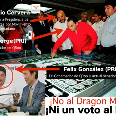 LOS JEFAZOS DEL 'DRAGON MART': Sin aclarar, las acusaciones a Roberto Borge y Félix González|Por Carlos Cantón Zetina