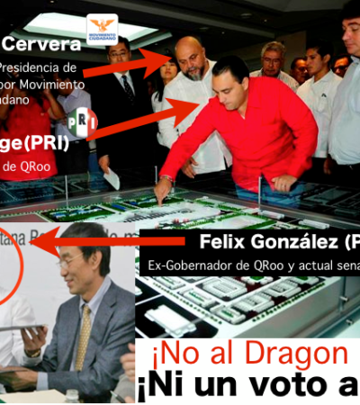 LOS JEFAZOS DEL 'DRAGON MART': Sin aclarar, las acusaciones a Roberto Borge y Félix González Por Carlos Cantón Zetina
