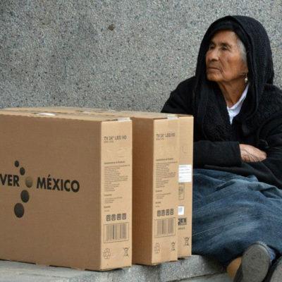 """VENGAN DE DONDE VENGAN"": Demanda Morena al INE poner un alto a la entrega masiva de televisores digitales por elecciones"
