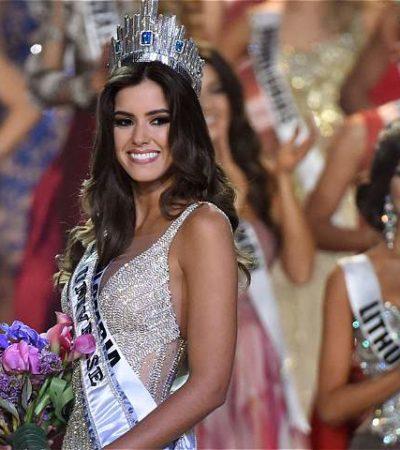 UNA COLOMBIANA, LA MÁS BELLA: Gana la modelo Paulina Vega el concurso Miss Universo