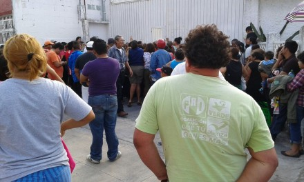 EMPIEZAN LOS JALONEOS ELECTORALES: Exhiben entrega de despensas del PVEM en Cancún