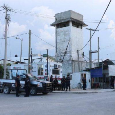 Frustran solitaria fuga de reo en la cárcel de Cancún en la víspera de Año Nuevo