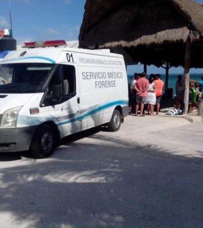 PRIMER DECESO DE TURISTA DEL 2015 EN CANCÚN: Se ahoga canadiense en playas de Punta Sam