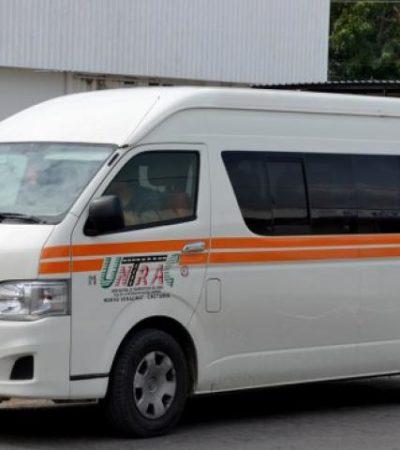 Por alza de gasolinas, piden aumento de tarifas para el transporte foráneo en Chetumal