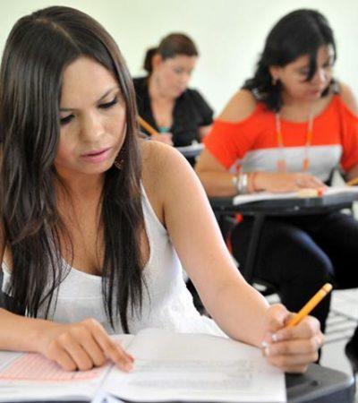 MAESTROS, REPROBADOS AL POR MAYOR: Tras segundo examen de oposición, sólo el 30% de los docentes en QR son aptos para dar clases