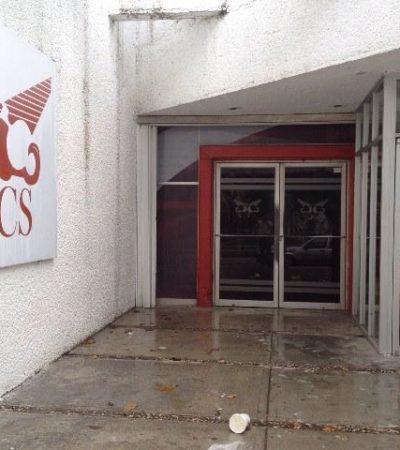 Atracan cajero automático ubicado en edificio del SQCS en Chetumal