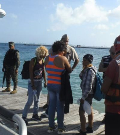 Intercepta Armada a balseros cubanos en altamar