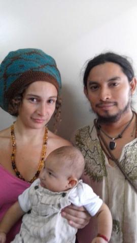 """""""SON MIS CREENCIAS"""": Le niegan a pareja extranjera en Tulum el derecho de registrar a su hijo con el nombre de 'Awalik'"""
