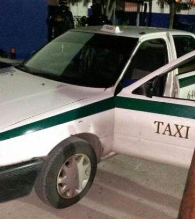 Capturan a otro narcotaxista en Cancún