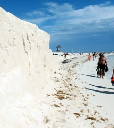 Regresa la erosión a playas de Cancún y aún no hay planes para retomar trabajos de recuperación