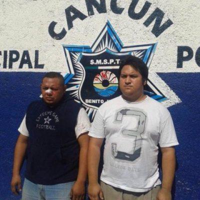 Roban sucursal de Banco Azteca en Cancún en complicidad con gerente para tapar un desfalco
