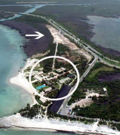 OTRO ECOCIDIO IMPUNE: Con imágenes aéreas, documentan presunta tala de manglar en complejo hotelero en Punta Nizuc