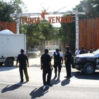 Clausura fiscalización festival de música electrónica en Punta Venado; varios detenidos con drogas