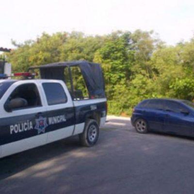 Fuerte movilización en Cancún por un reporte de 'embolsado'; resultó ser un perro
