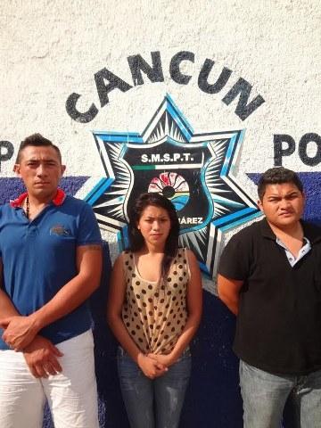 Capturan a banda de ladrones que operaba en Ciudad del Carmen, Mérida y Cancún