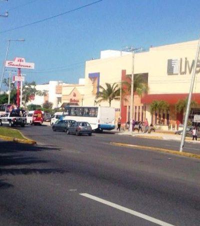 Secuestran a un joven en Playa 'por error' y aparece golpeado en Plaza Las Américas de Cancún