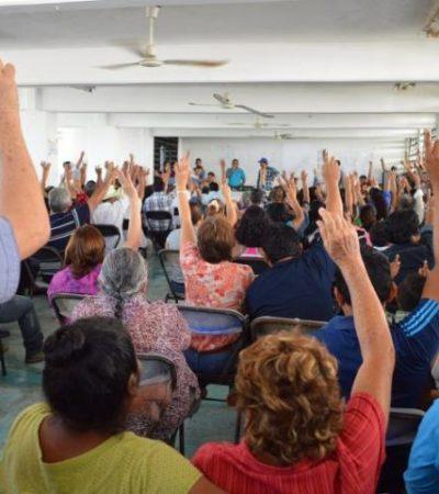 Pactan ejidatarios de Calderitas la venta en 200 mdp de mil hectáreas colindantes con la Bahía de Chetumal