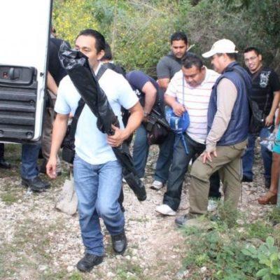 Consignan por secuestro a sicario de 'Los Pelones' y buscan en rancho de Playa presuntas narcofosas