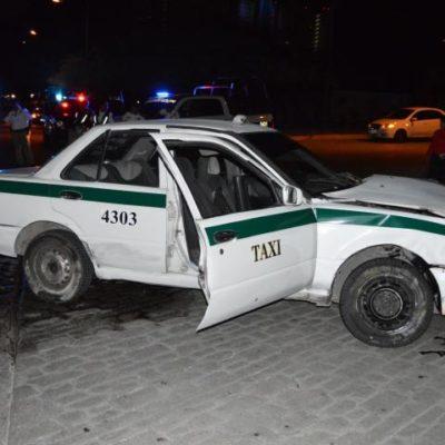 ERA 'CLONADO': Taxi implicado en asalto, persecución y balacera en Plaza de Toros no era de los verdaderos, dicen