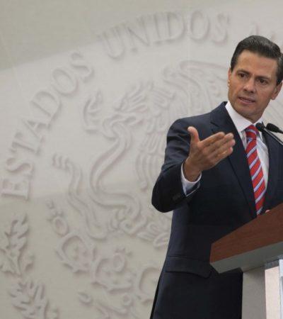 """¿'TRASCENDER' AYOTZINAPA?: Insiste Peña Nieto en """"avanzar con optimismo"""" y pide """"no quedarnos atrapados"""""""