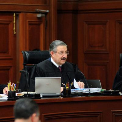 TIENE LA CORTE NUEVO PRESIDENTE: Tras una sesión de más de 4 horas, ministros eligen a Luis María Aguilar Morales para presidir la SCJN