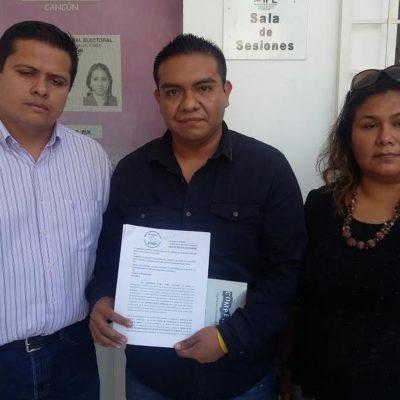 BUSCAN QUEMAR AL 'TUCÁN': Interpone PRD queja ante el INE contra el PVEM por entrega de despensas en Cancún; son actos anticipados de campaña, acusan