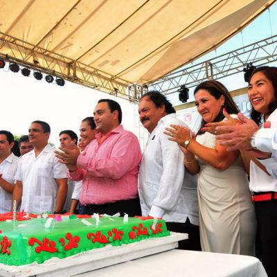 SIGUE 'BETO' DE FIESTA EN FIESTA: Organizan otra comilona para el Gobernador por su 'cumple' del año pasado para placear a precandidatos