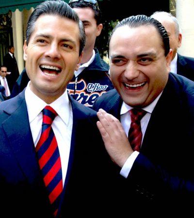 PEÑA NIETO Y BORGE, LA RAPIÑA: Uno, sigue con escándalos; el otro, enfiestado, promueve al PRI | Por Carlos Cantón Zetina