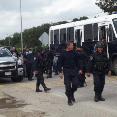 'ALBOROTO' EN EL CERESO DE CHETUMAL: Versiones contradictorias sobre amotinamiento de reos que provocó una fuerte movilización policiaca