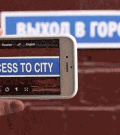 CONVIERTE TU SMARTPHONE EN UN TRADUCTOR: Nueva versión de 'Google Translate' permite traducir en tiempo real usando cámara del celular