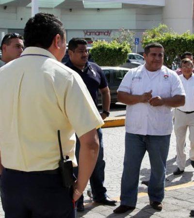 Tratan de poner orden en el transporte urbano para evitar congestionamientos en Cancún
